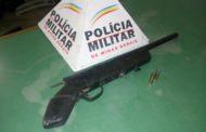 Arma apreendida e foragido da justiça capturado