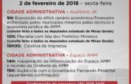 Associação Mineira de Municípios promove encontro em BH