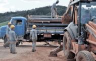 Seguem obras de captação complementar no Rio Preto