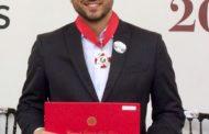 Pedro Leitão recebe Medalha da Inconfidência