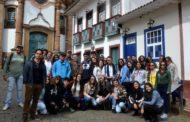 Alunos do curso de Arquitetura e Urbanismo realizam visita técnica na cidade histórica de Ouro Preto