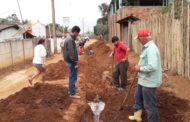 Prefeitura investe na ampliação de rede de esgoto no Iguaçu