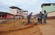 Prefeitura inicia construção da praça no Rondon Pacheco