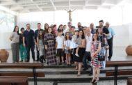 Rafael Sampaio Costa celebra em BH aniversário e batismo
