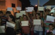 Pais e alunos da Escola Geraldo Marques Cevidanes cobram resposta da prefeitura