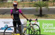 Ana Laura comemora ano vitorioso no ciclismo