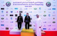 Atleta caratinguense de jiu-jitsu brilha nos Emirados Árabes Unidos