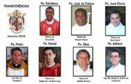 Início de ano marcado por transferências de padres na diocese