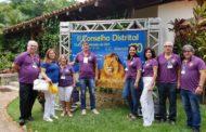 Lions Clube Caratinga Itaúna participa do Conselho Distrital em Aimorés