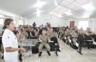 Militares participam de treinamento de lideranças