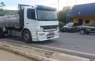 PRF apreende caminhão adulterado