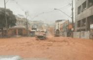 Chuva causa transtorno na região central de Caratinga