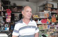 Mazinho, comerciante há três décadas