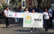 Passeata abre Semana da Pessoa com Deficiência Intelectual e Múltipla