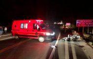 Acidente na BR-116, em Santa Rita de Minas